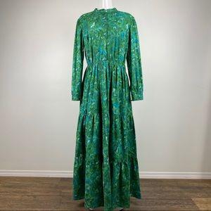 Tiered Prairie Maxi Dress